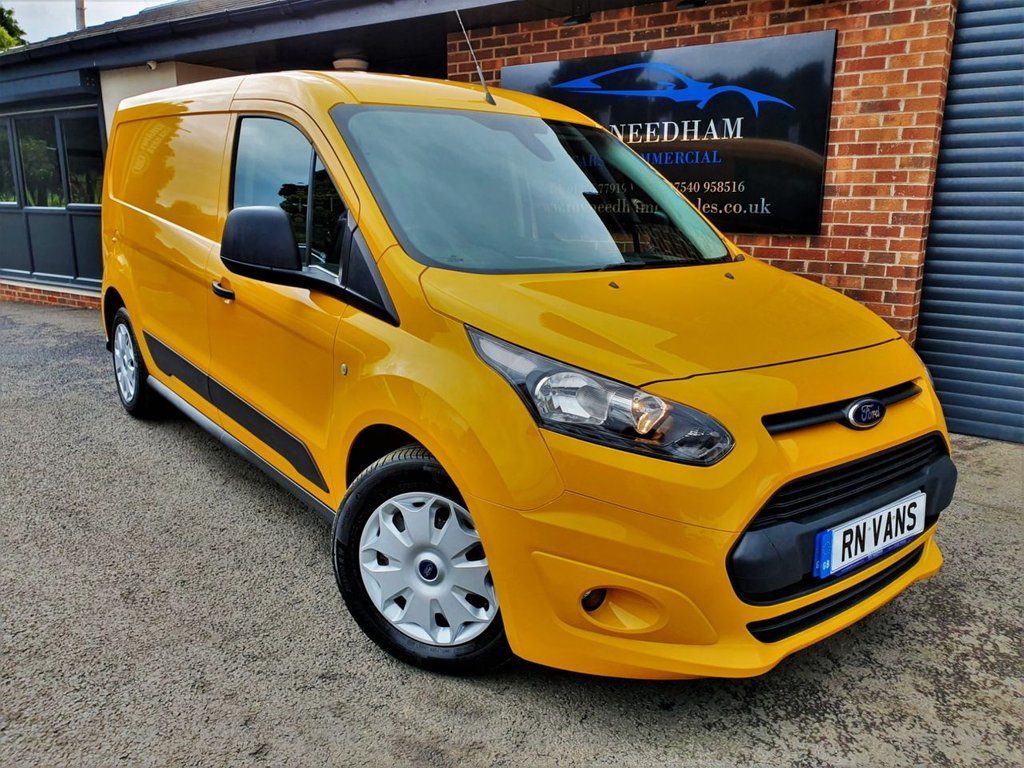 USED 2016 65 FORD TRANSIT CONNECT 1.6 240 TREND P/V 114 BHP L2 H1 *** 1 OWNER - FSH - AIR CON ***