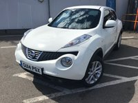 USED 2014 14 NISSAN JUKE 1.5 ACENTA DCI 5d 110 BHP ONE FORMER KEEPER !!