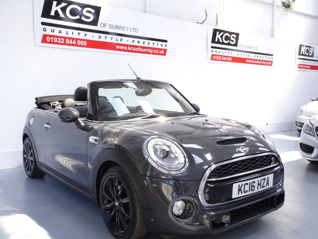 USED 2016 16 MINI CONVERTIBLE 2.0 COOPER S 2d 189 BHP CHILI - MEDIA XL NAV - LEATHER