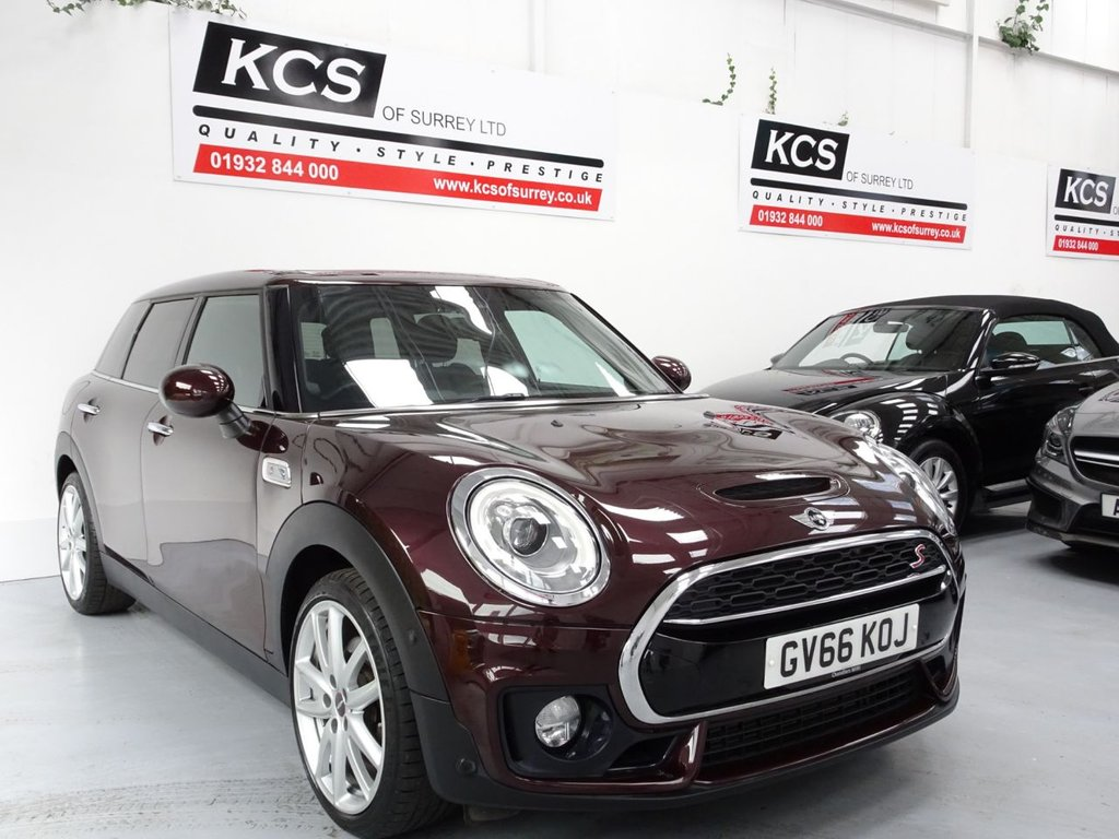 USED 2016 66 MINI CLUBMAN 2.0 COOPER S 5d 189 BHP PAN ROOF- HUGE SPECIFICATION
