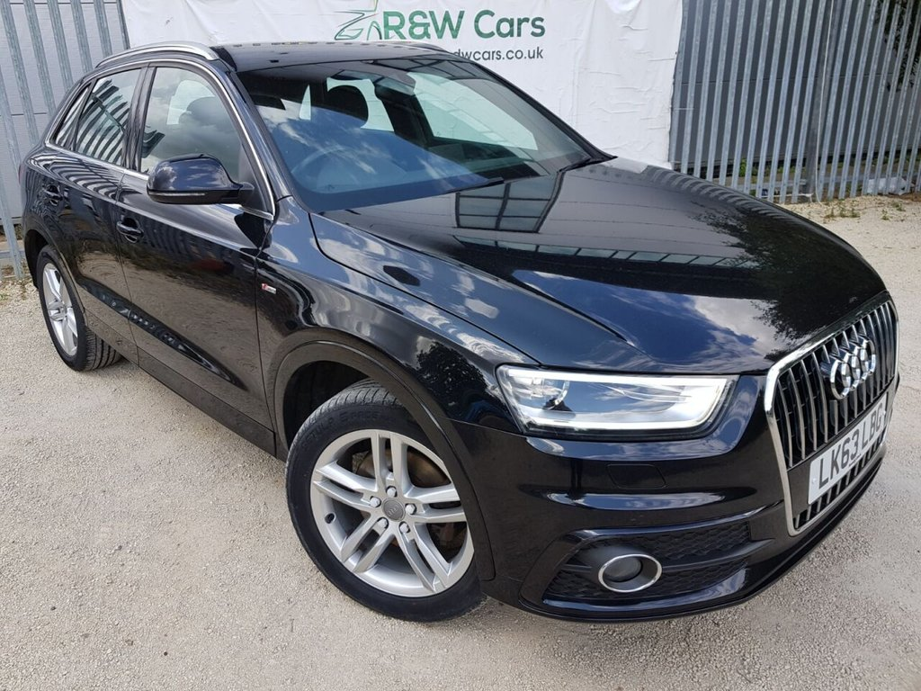 USED 2013 63 AUDI Q3 2.0 TDI S LINE 5d 138 BHP **LIVE VIDEO WALK AROUND AVAILABLE**
