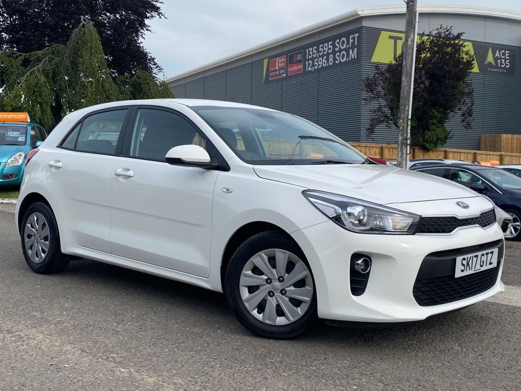 USED 2017 17 KIA RIO 1.2 1 5d 82 BHP 1 OWNER, LOW MILEAGE, F.S.H