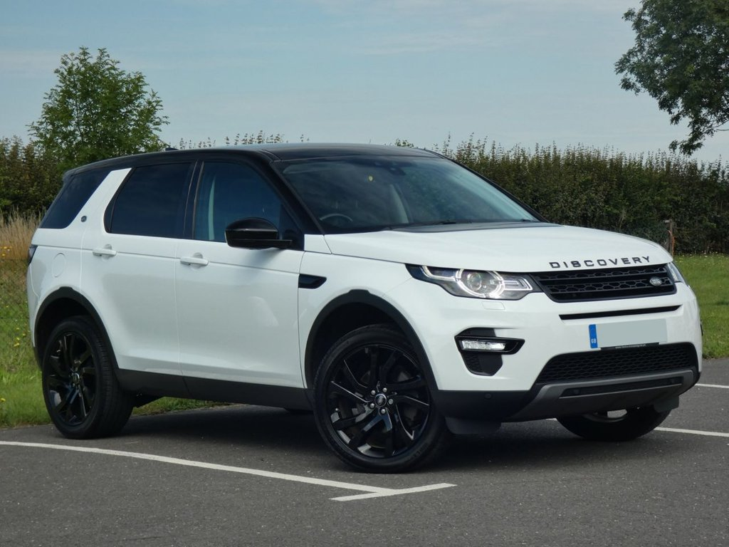 USED 2017 17 LAND ROVER DISCOVERY SPORT 2.0 TD4 HSE BLACK 5d 180 BHP