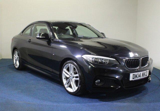 USED 2014 14 BMW 2 SERIES 2.0 218D M SPORT 2d 141 BHP