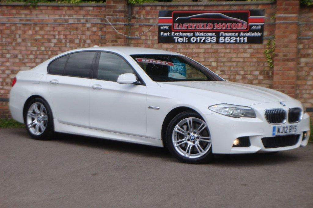 USED 2012 12 BMW 5 SERIES 2.0 525D M SPORT 4d 218 BHP