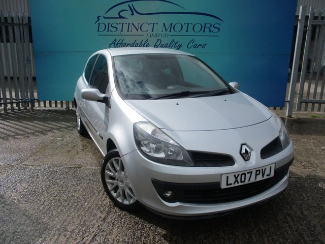 USED 2007 07 RENAULT CLIO 1.4 DYNAMIQUE S 16V 3d 98 BHP