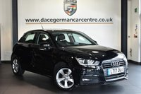 "USED 2017 17 AUDI A1 1.0 SPORTBACK TFSI SPORT 5DR 93 BHP Finished in a stunning black styled with 16"" alloys. Upon opening the drivers door you are presented with half leather interior, full service history, bluetooth, DAB radio, multi functional steering wheel, heated mirrors, usb/aux port"