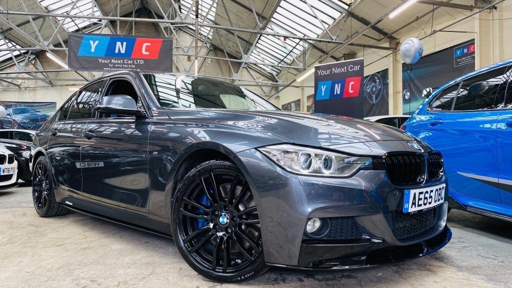 USED 2015 65 BMW 3 SERIES 2.0 325d M Sport (s/s) 4dr PERFORMANCEKIT+MPLUSPK+HTDLTHR