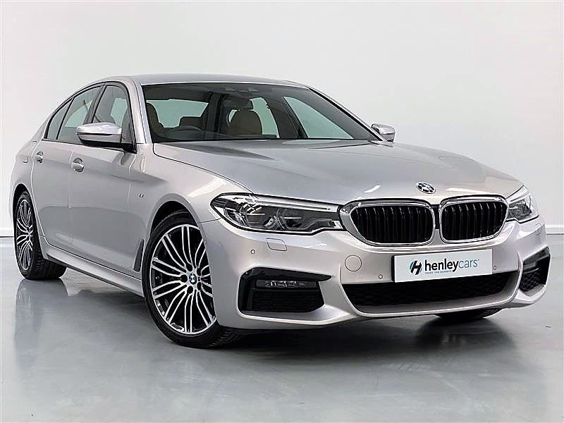USED 2018 68 BMW 5 SERIES 3.0 530D M SPORT