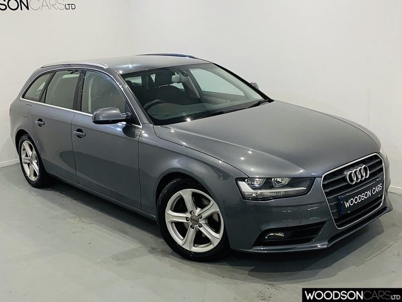 USED 2014 14 AUDI A4 2.0 AVANT TDI SE 5d 134 BHP Full Audi Service History / 1 Company Owner / Parking Sensors / Isofix / Timing Belt changed at 100k