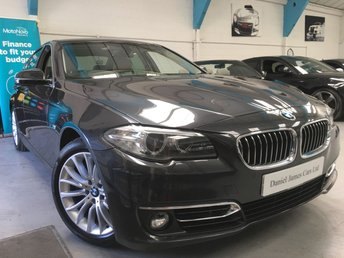 2014 BMW 5 SERIES 3.0 ACTIVEHYBRID 5 LUXURY 4d 302 BHP £15490.00