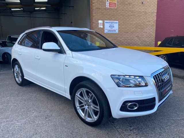 2010 10 AUDI Q5 2.0 TDI QUATTRO S LINE 5d 141 BHP FULL LEATHERS BUY NOW PAY LATER WITH ZERO DEPOSIT