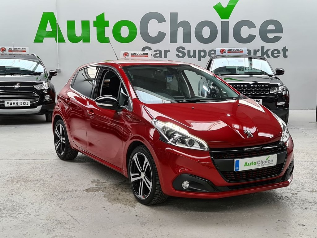 USED 2017 17 PEUGEOT 208 1.6 BLUE HDI GT LINE 5d 100 BHP *HUGE SPEC*