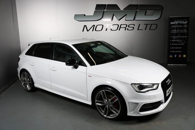USED 2014 14 AUDI A3 2014 AUDI A3 2.0 TDI S LINE BLACK EDITION STYLE 5d 148 BHP (FINANCE AND WARRANTY)