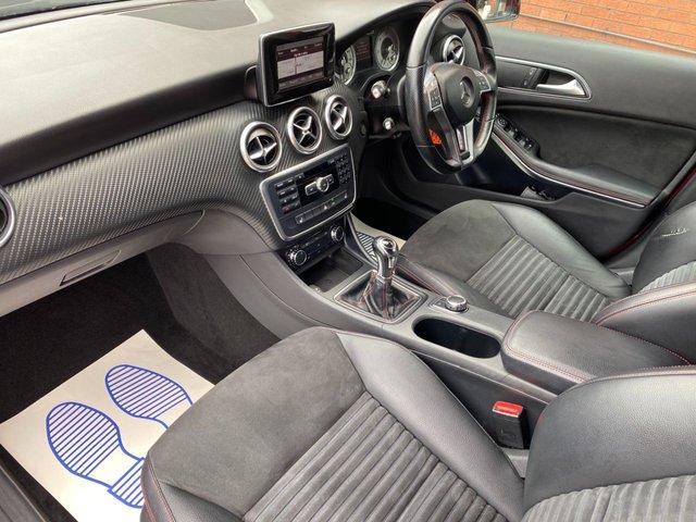 USED 2013 13 MERCEDES-BENZ A-CLASS 1.5 A180 CDI BLUEEFFICIENCY AMG SPORT 5d 109 BHP A45 LOOKS