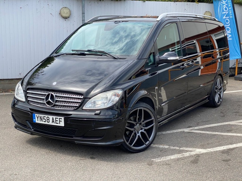 USED 2008 58 MERCEDES-BENZ VIANO 3.0 CDI LONG AMBIENTE 5d 202 BHP ELECTRIC DOORS, PAN ROOF +MORE