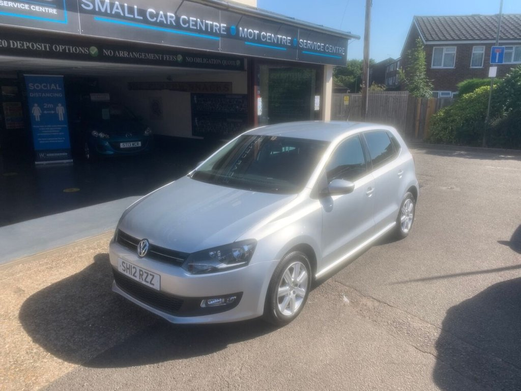 USED 2012 12 VOLKSWAGEN POLO 1.2 MATCH 5d 59 BHP BLUETOOTH - USB - AUX - AIRCON