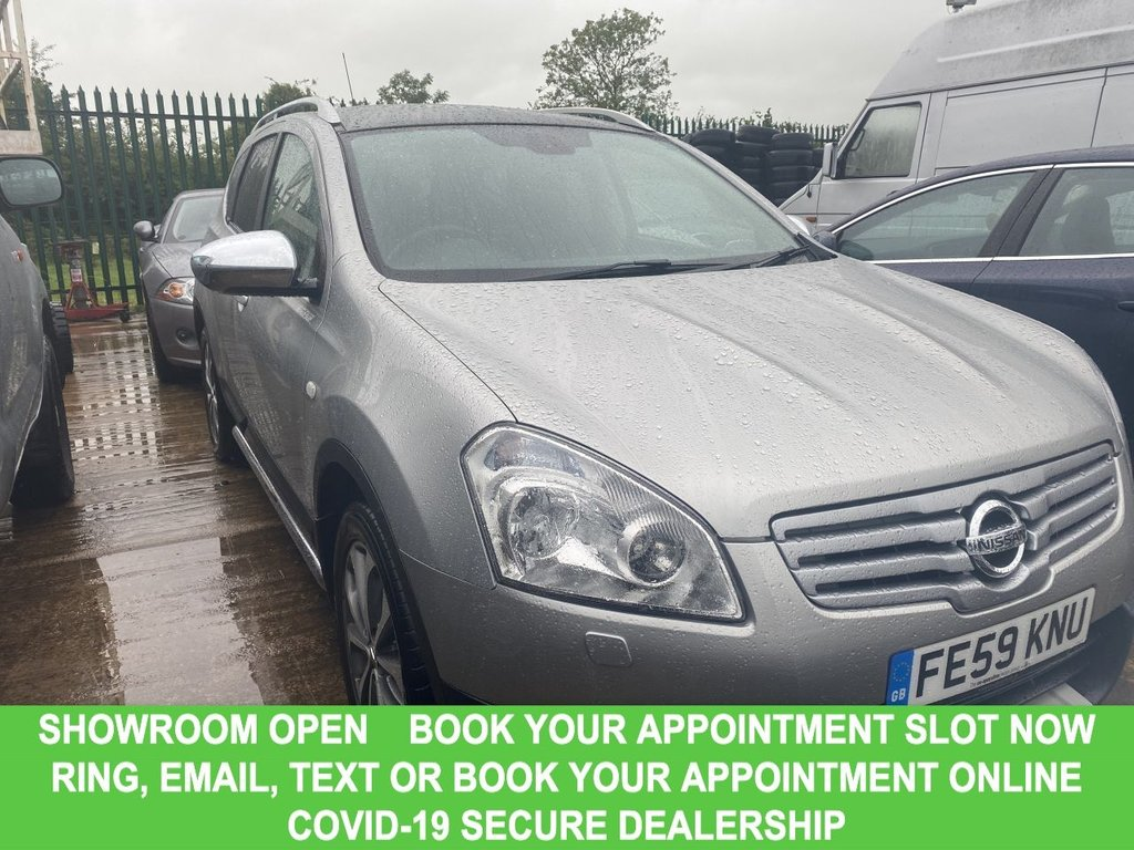 USED 2009 59 NISSAN QASHQAI+2 2.0 TEKNA PLUS 2 DCI 5d 7 Seat Damily SUV Great Value for Money A FANTASTIC HIGH SPEC FAMILY SUV AT AN EVEN BETTER PRICE! PLUS JUST ONE FORMER KEEPER