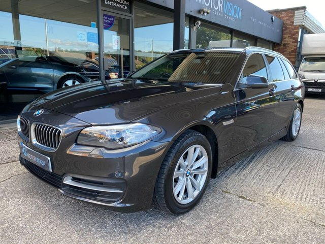 2015 65 BMW 5 SERIES 2.0 520D SE TOURING 5d 188 BHP