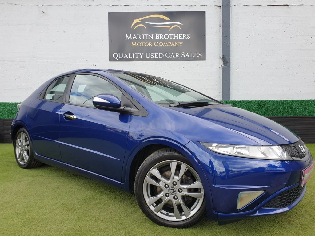 USED 2010 10 HONDA CIVIC 1.8 I-VTEC SI 5d 138 BHP