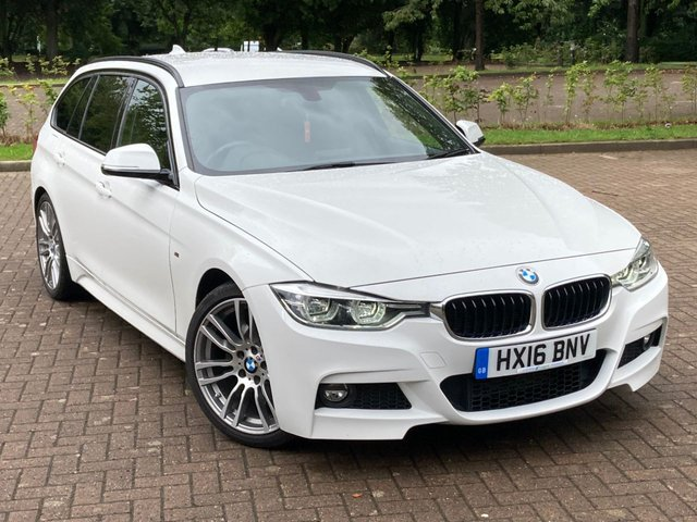 USED 2016 16 BMW 3 SERIES 2.0 320D M SPORT TOURING 5d 188 BHP