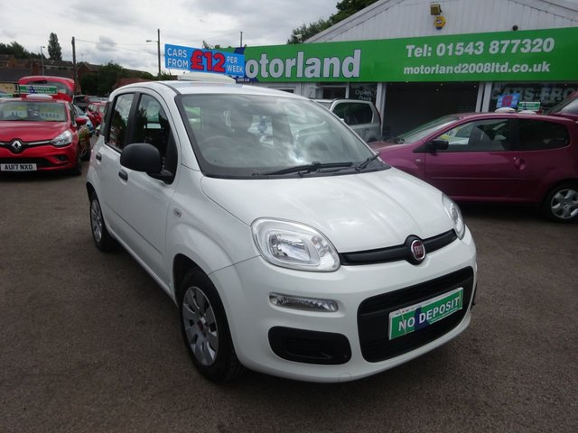 USED 2015 65 FIAT PANDA 1.2 POP 5d 69 BHP **TEST DRIVE WELCOME...SMALL 5 DOOR ...PETROL