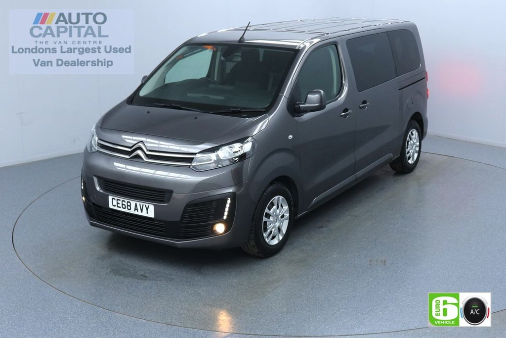 USED 2018 68 CITROEN SPACETOURER 1.5 BlueHdi Business MWB 120 BHP 9 Seats Minibus Low Emission Finance Available Online | 9 Seats | Air Con| R Sensors