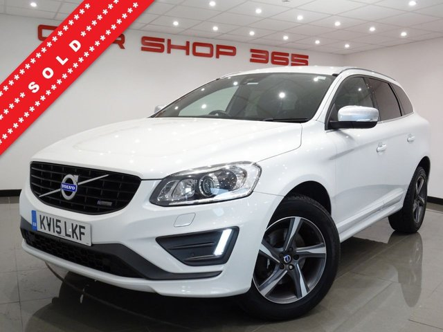 USED 2015 15 VOLVO XC60 2.4 D5 (215 BHP) R-DESIGN LUX NAV GEARTRONIC AWD..FACTORY BODYKIT..E/M/HEATED LEATHERS..CRUISE..PRIVACY..HIGH SPEC !! AWD+PARK+XENON+TINTS+EHM LEATHER+NAV+CRUISE+CLIMATE