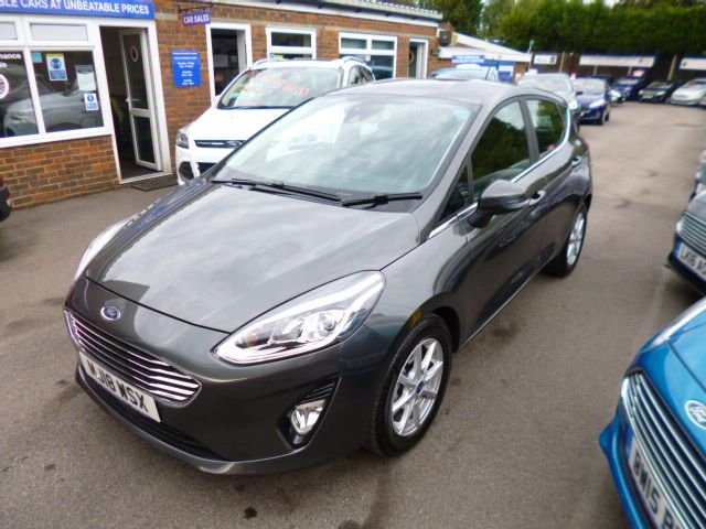 2018 18 FORD FIESTA 1.0 ZETEC NAVIGATOR AUTOMATIC ECOBOOST (100PS) NEW MODEL