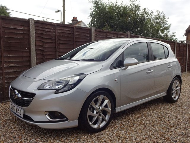 USED 2017 17 VAUXHALL CORSA 1.4 SRi VX-LINE 5DOOR GREAT SPEC, LONG MOT, READY TO GO