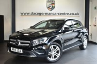 "USED 2015 15 MERCEDES-BENZ GLA-CLASS 2.1 GLA220 CDI 4MATIC SPORT 5DR AUTO 168 BHP Finished in a stunning cosmos metallic black styled with 18"" alloys. Upon opening the drivers door you are presented with full leather inerior, full service history, bluetooth, reversing camera, cruise control, multi functional steering wheel, rain sensors, attention assist, offraod package"