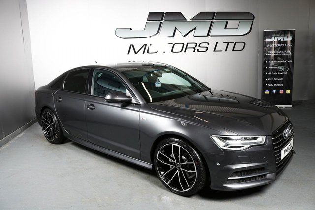 USED 2015 V AUDI A6 NOVEMBER 2015 AUDI A6 2.0 TDI ULTRA S LINE BLACK EDITION STYLE AUTO 188 BHP (FINANCE AND WARRANTY)