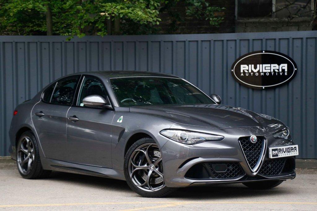 USED 2017 67 ALFA ROMEO GIULIA 2.9 V6 BITURBO QUADRIFOGLIO 4d 503 BHP