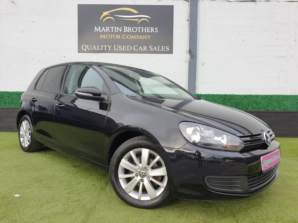 USED 2012 12 VOLKSWAGEN GOLF 1.6 MATCH TDI BLUEMOTION TECHNOLOGY 5d 103 BHP