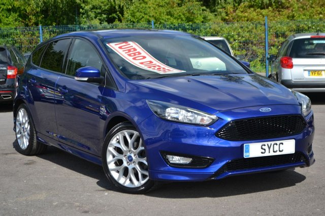 USED 2017 17 FORD FOCUS 1.5 ST-LINE TDCI 5d 118 BHP ~ 18