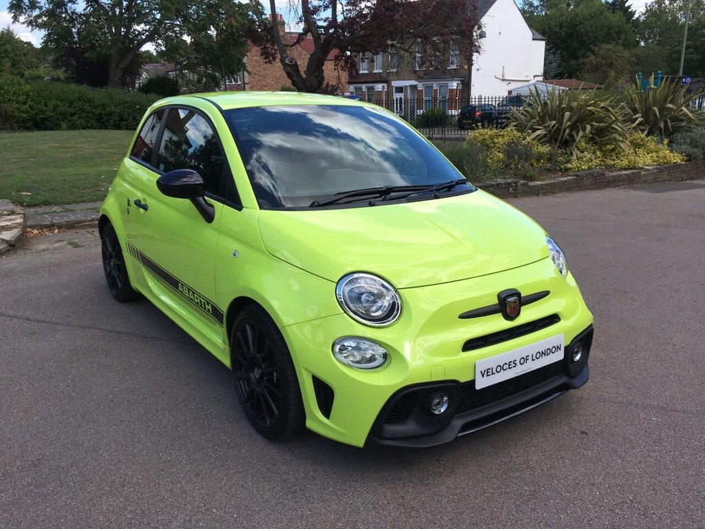 USED 2019 19 ABARTH 595 1.4L 595 COMPETIZIONE 3d 177 BHP £2075 OF FACTORY EXTRAS