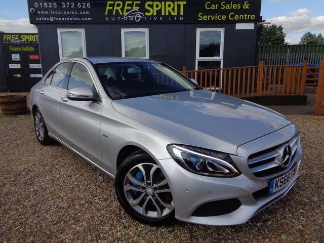 USED 2016 66 MERCEDES-BENZ C-CLASS 2.0 C350e 6.4kWh Sport G-Tronic+ (s/s) 4dr Navigation, Bluetooth, DAB