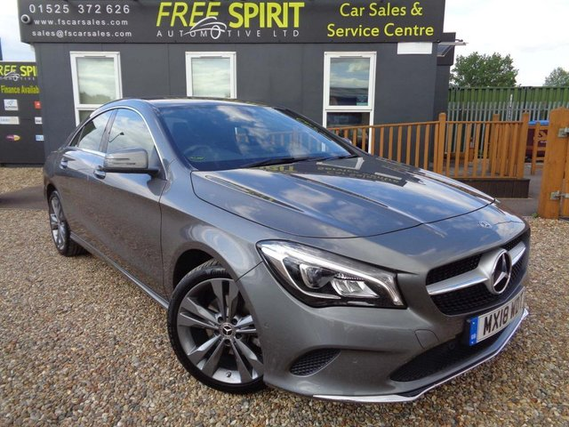 USED 2018 18 MERCEDES-BENZ CLA 1.6 CLA180 Sport 7G-DCT (s/s) 4dr Apple/Android Car Play, Navi