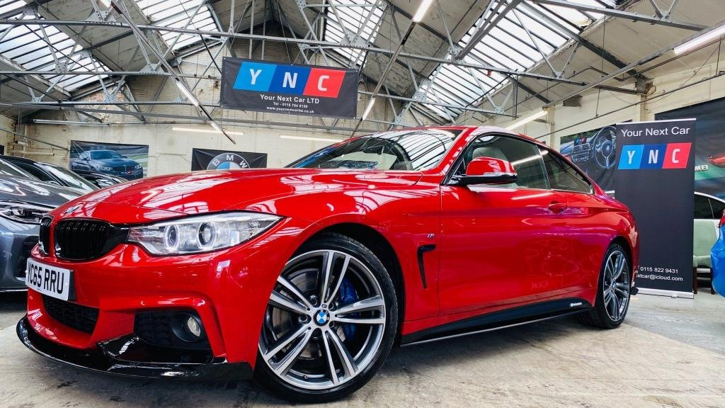 USED 2015 65 BMW 4 SERIES 2.0 420d M Sport 2dr PERFORMANCEKIT+SUNROOF+PLUSPAK