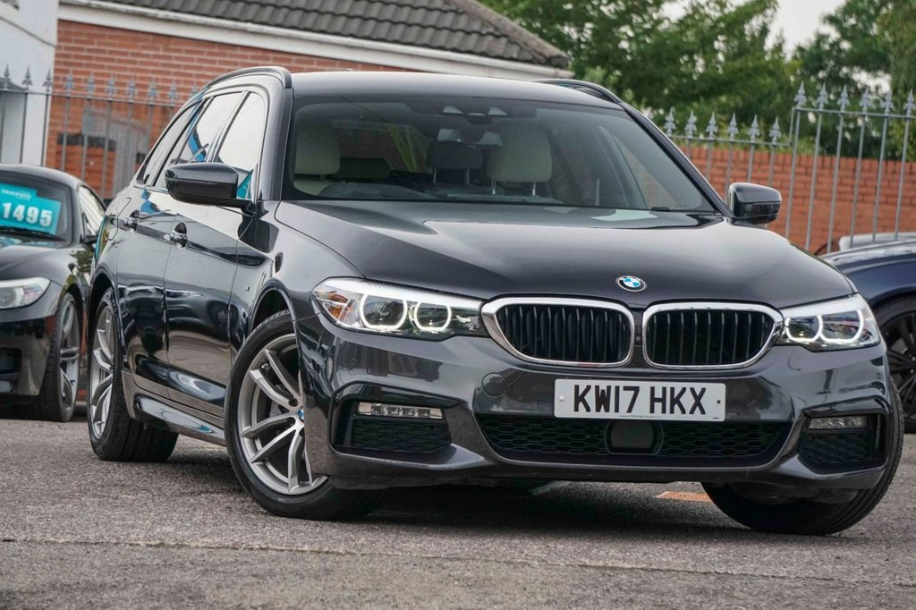 USED 2017 17 BMW 5 SERIES 2.0 520D M SPORT TOURING 5d 188 BHP