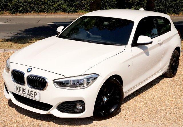 2015 15 BMW 1 SERIES 1.5 116D M SPORT 3d 114 BHP AUTOMATIC