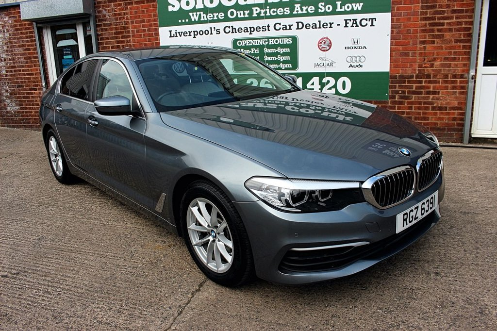 USED 2017 17 BMW 5 SERIES 2.0 520D XDRIVE SE 4d AUTO 188 BHP +AUTO +NEW SHAPE +LOW MILEAGE.