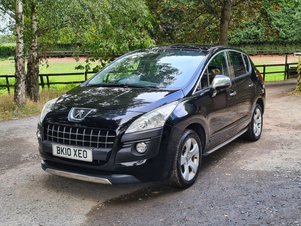 USED 2010 10 PEUGEOT 3008 1.6 EXCLUSIVE HDI 5d 110 BHP +++BRAND NEW CLUTCH+++