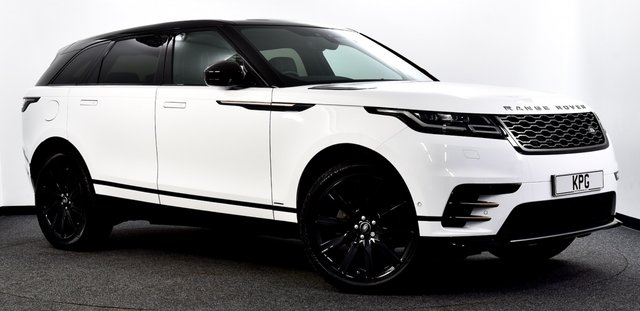 """USED 2018 18 LAND ROVER RANGE ROVER VELAR 2.0 D240 R-Dynamic SE Auto 4WD (s/s) 5dr Pan Roof, 21""""s, Heated S/Wheel"""