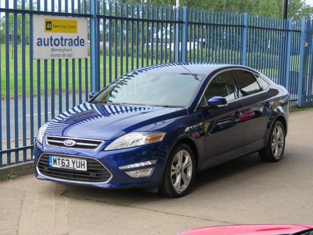 USED 2013 63 FORD MONDEO 2.0 TITANIUM X BUSINESS EDITION TDCI 5d 161 BHP Automatic Diesel with SatNav and leather interior