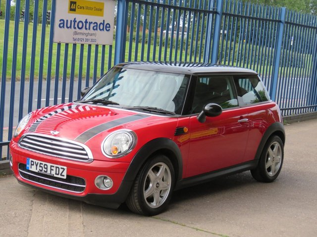 USED 2009 59 MINI HATCH COOPER 1.6 COOPER D 3dr Bluetooth 1/2 Leather Alloys Heated seats Fogs Finance arranged Part exchange available Open 7 days