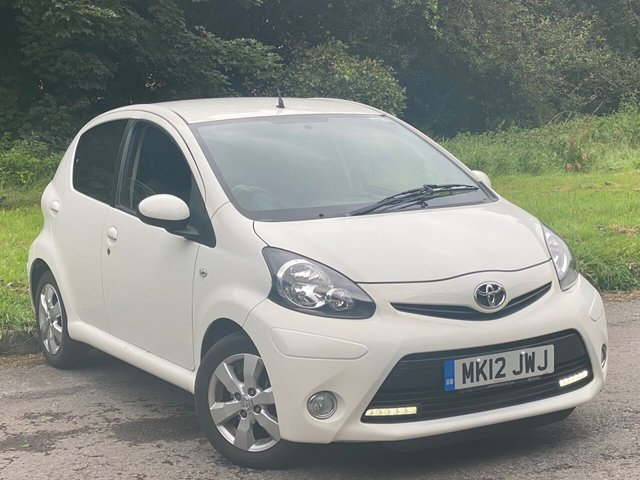 USED 2012 12 TOYOTA AYGO 1.0 VVT-I FIRE AC 5d LOW MILEAGE, RECENTLY SERVICED, MOT UNTIL MARCH 2021, IDEAL FIRST CAR, LOW RUNNING COSTS