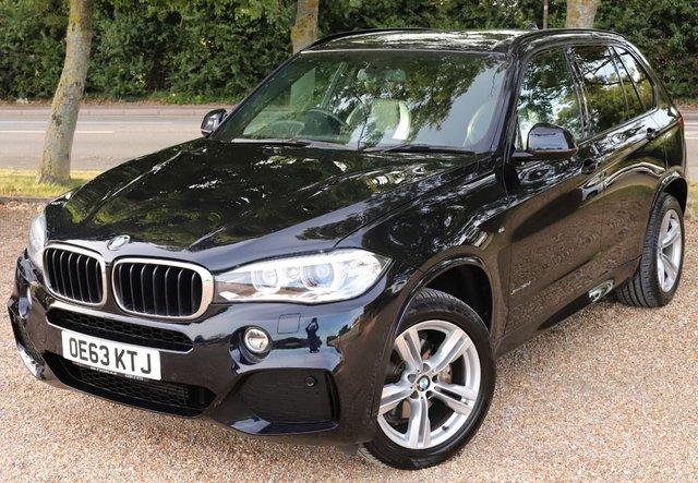 2014 63 BMW X5 3.0 XDRIVE30D M SPORT 5d 255 BHP AUTOMATIC// 7 SEATER !!!