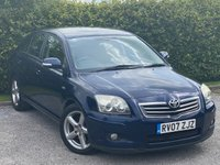 USED 2007 07 TOYOTA AVENSIS 2.2 T180 D-4D 5d 175 BHP LOW MILEAGE FAMILY DIESEL