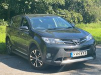 USED 2014 14 TOYOTA RAV4 2.0 D-4D ICON AWD 5d 124 BHP SERVICE HISTORY, MOT UNTIL MAY 2021, SATELLITE NAVIGATION, BLUETOOTH, CRUISE CONTROL